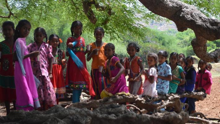 Rapport från Summer Camps i Jawadhi Hills 2016